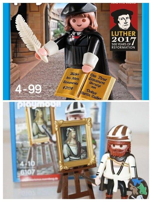 Playmobil Luther und Dürer