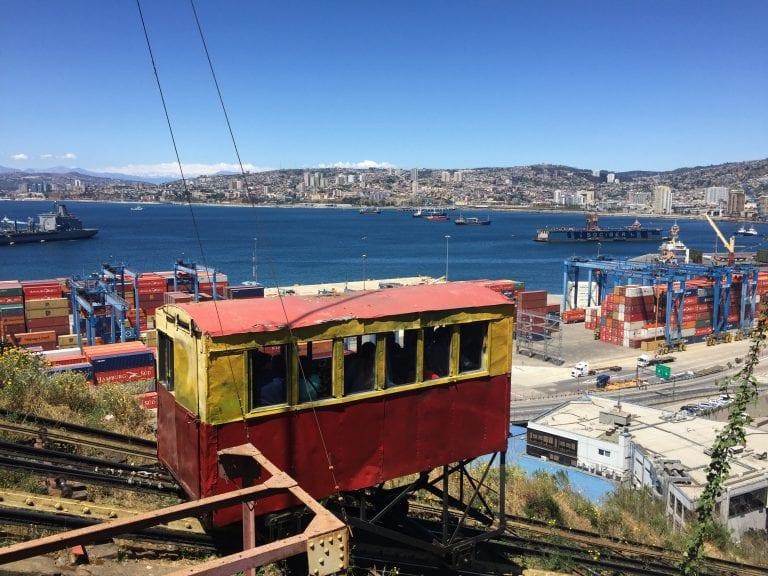 Bate e volta a Valparaiso e Viña del Mar