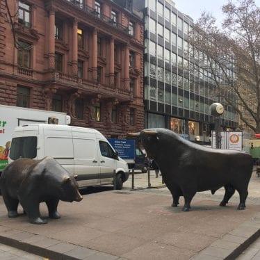 Touro e Urso, símbolos das bolsas de valores