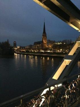 Eiserner Steg (ponte dos cadeados)