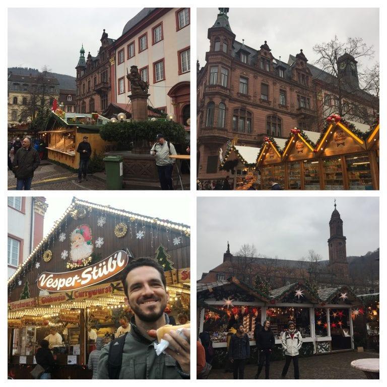 Mercado de Natal na Universitätsplatz