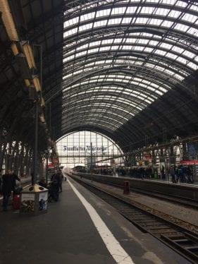 Até breve, Frankfurt!