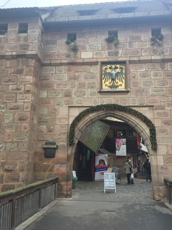 Königstor, um dos portões de entrada do centro antigo de Nuremberg