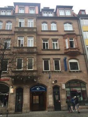 Fachada do Hotel Garni Probst, em Nuremberg, Alemanha