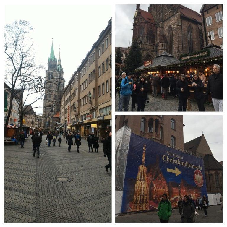 Nuremberg - KonigStrasse e ruas do centro