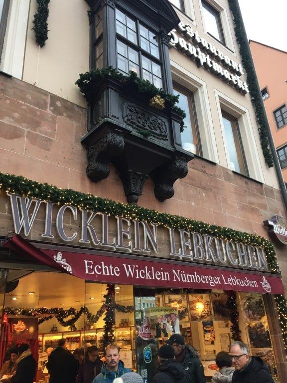 Wicklein Lebkuchen, em Nuremberg