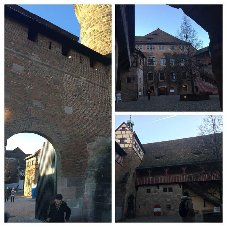 Kaiserburg - pátio do castelo imperial