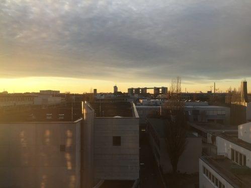 Vista da janela do Ibis Muenchen City Ost
