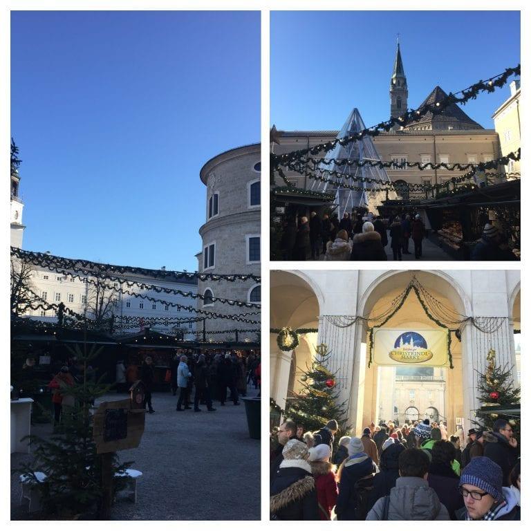 O que fazer em Salzburg: Domplatz e Christkindlmarkt