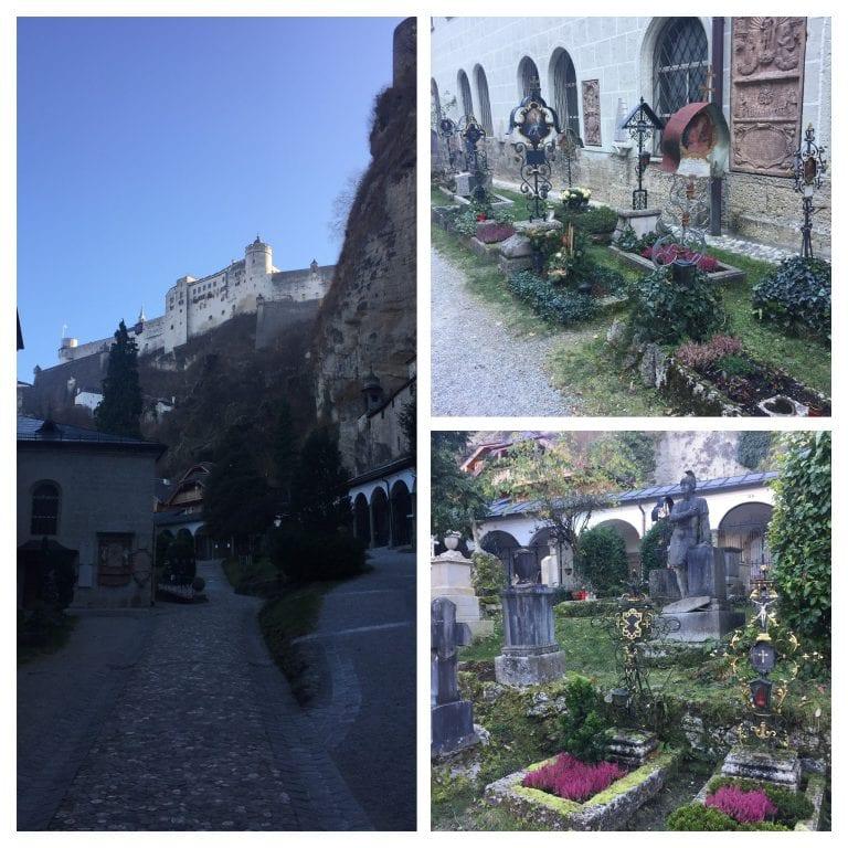 Cemitério - Petersfriedhof Salzburg