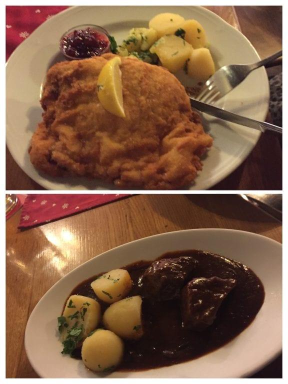 Almoço no Gasthof Wilder Mann
