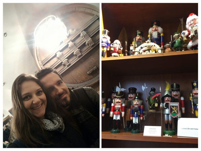 Schloss Heidelberg - Lojinha e o barril de vinho gigante do rei