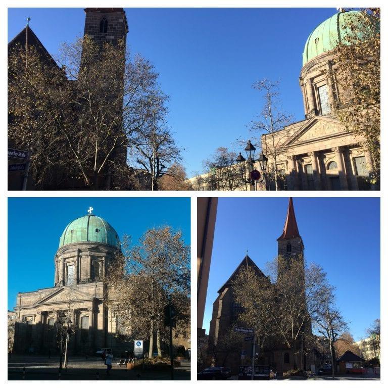 Igrejas 1. Jakobskirche e Elisabethkirche 2. Elisabethkirche 3. Jakobskirche