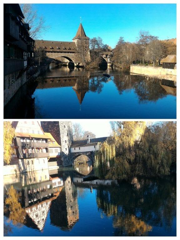 Ponte sobre o rio Pegnitz