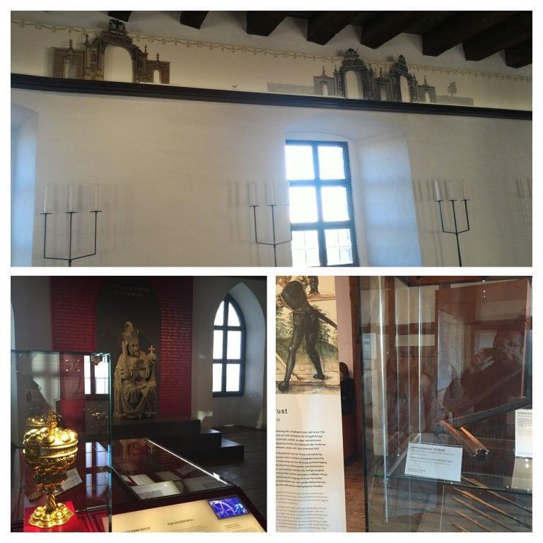 Kaiserburg - Interior do castelo e seu vasto acervo