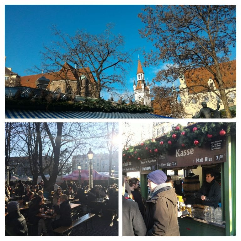 Viktualienmarkt, o maior mercado de alimentos a céu aberto de Munique