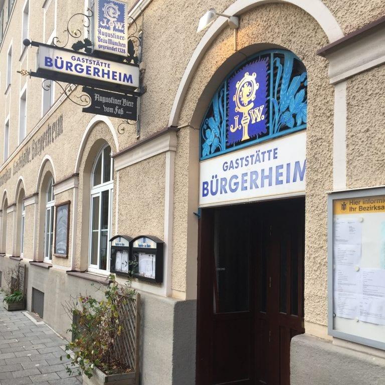 Restaurante Augustiner Bürgerheim em Munique