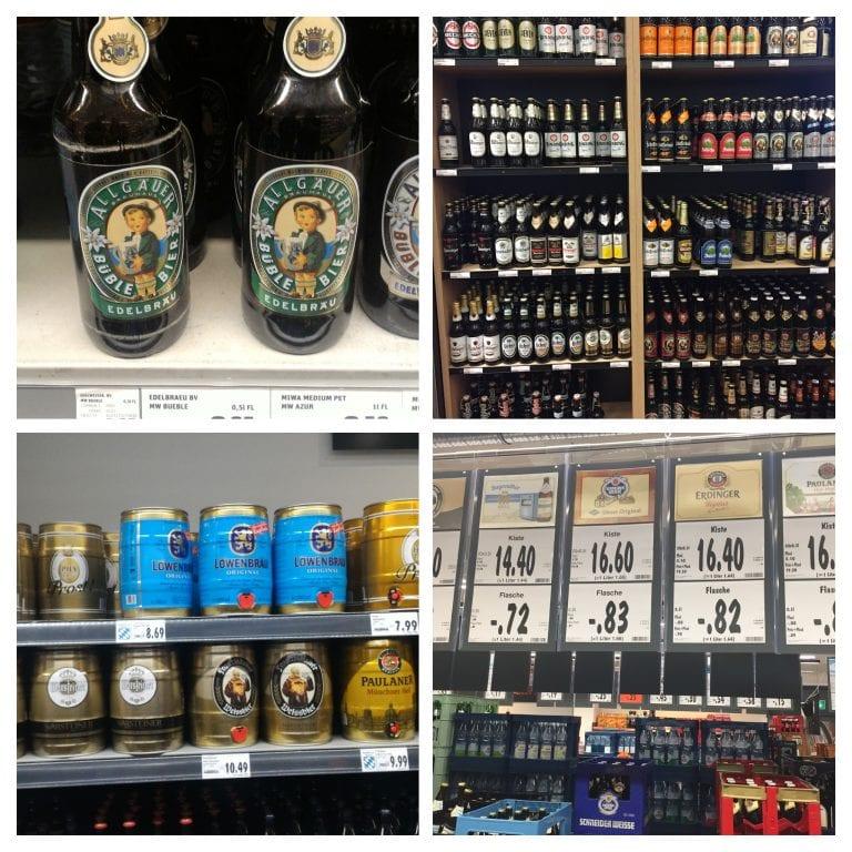 Cervejas no supermercado
