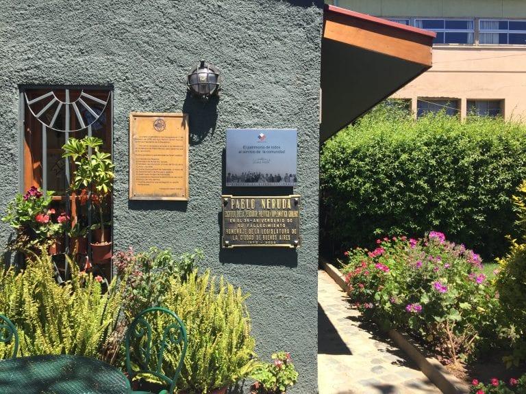 Café do Museu de Pablo Neruda