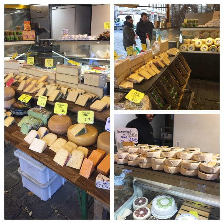 Viktualienmarkt e as múltiplas provinhas de salames, queijos, pães e mostardas