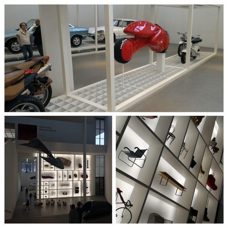 Exposição da Pinakothek der Moderne