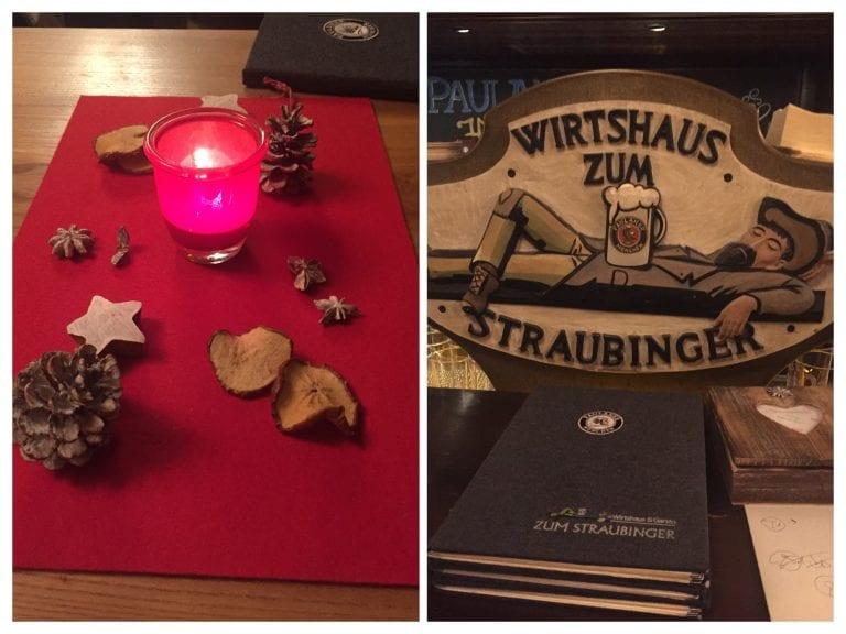 Destalhes do Restaurante Wirtshaus Zum Straubinger