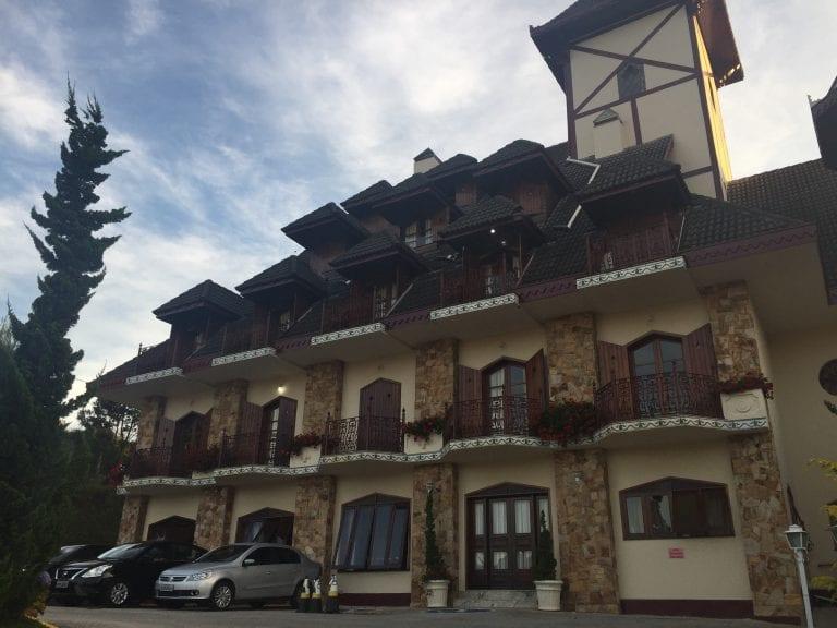 Fachada do Hotel Nacional Inn em Campos do Jordão - São Paulo