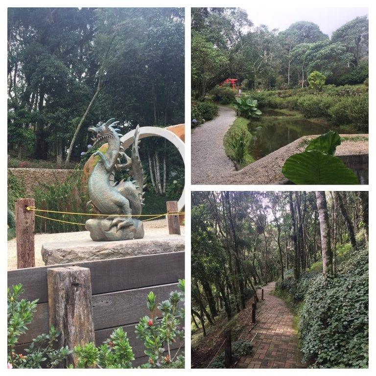 Jardim Chinês no Parque Amantikir