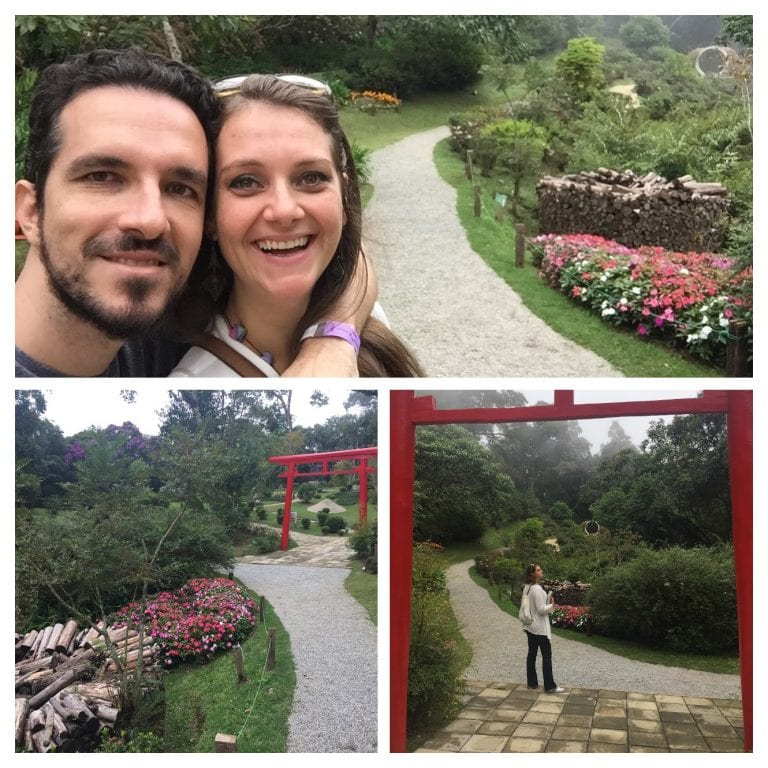 Jardim Japonês no Parque Amantikir