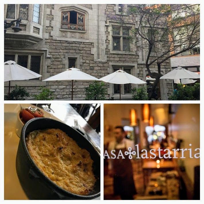 Casa Lastarria - comida e ambiente sofisticados, com bom atendimento