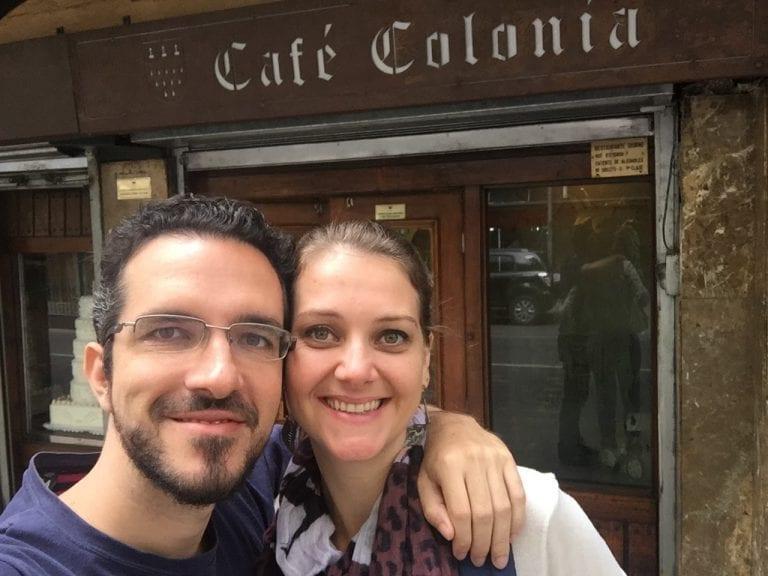 Nós no Café Colônia
