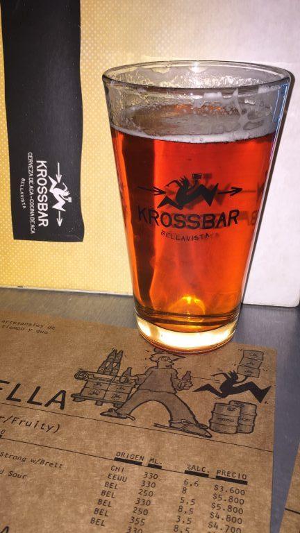 Cervejas artesanais no Kross Bar