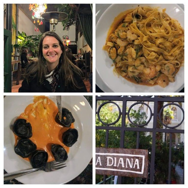 La Diana - ambiente super diferente e ótimo jantar
