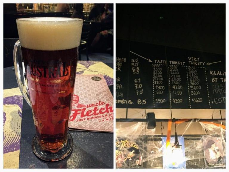 Cerveja artesanal e melhor hamburguer de Santiago