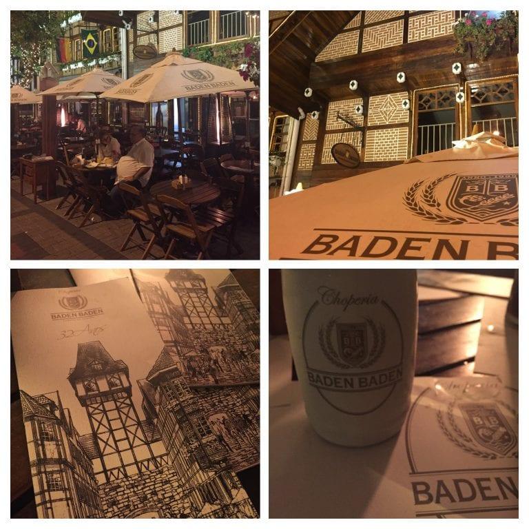 Restaurante da baden Baden, cervejaria de Campos do Jordão
