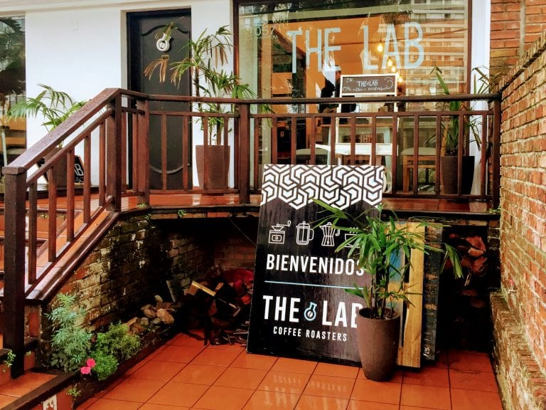 The Lab Coffee Roasters: fachada