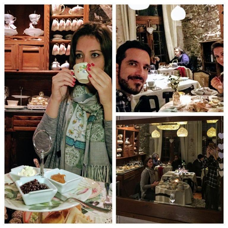 Queriéndote Casa de Té y Bistró: curtindo o chá da tarde