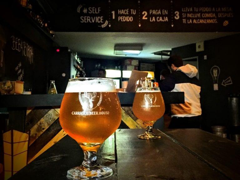 CBH UY: O belo copo de 1/2 pint servido na casa