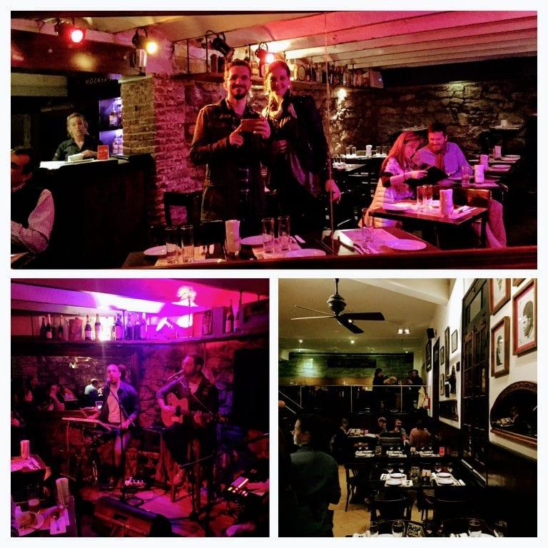 Bar Tabaré: vários ambiente e show ao vivo