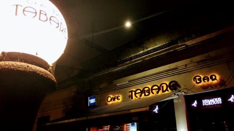 Bar Tabaré: fachada