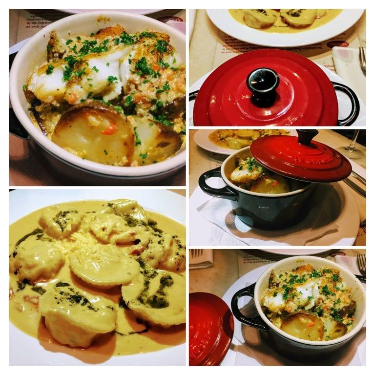 Bar Tabaré: pratos principais