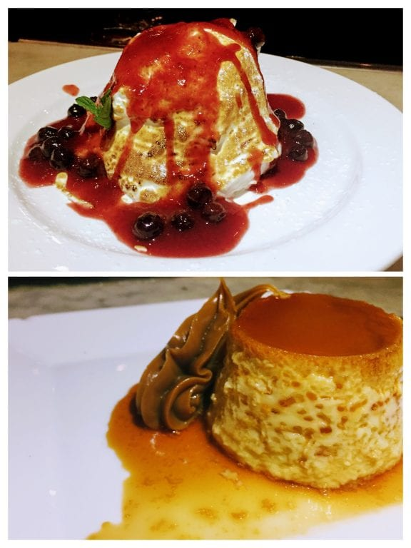Bar Tabaré: sobremesas