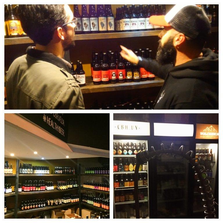 CBH UY: Muitas opções de cerveja artesanal uruguaia em garrafa