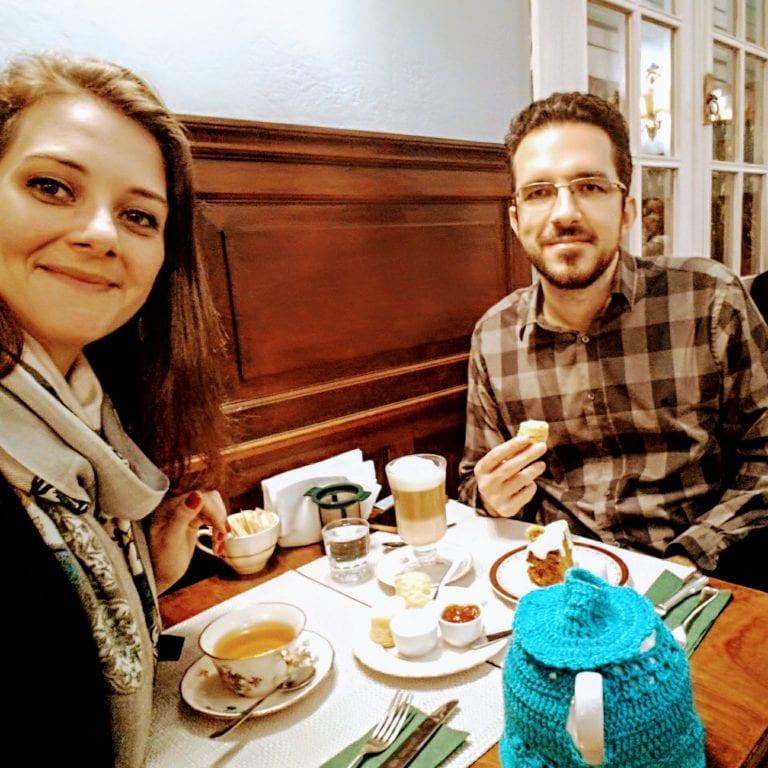 Philomène Café: aproveitando nosso chá da tarde