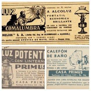 Primuseum: publicidade da empresa Primus