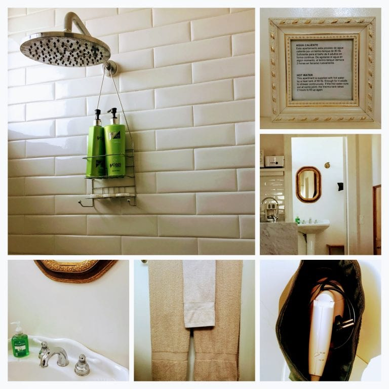 Salvo Suites: banheiro (sabonete + shampoo e condicionador+toalhas+secador)