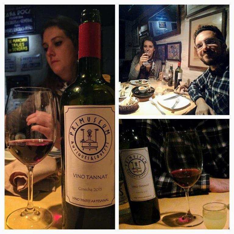 Primuseum: desfrutando de um bom vinho da casa
