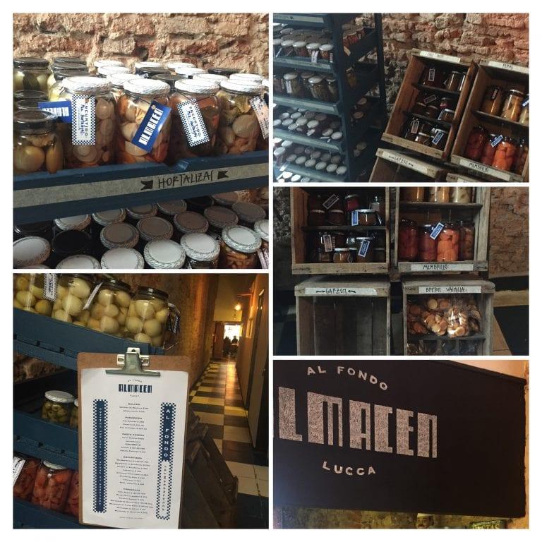 Lucca Bistro y Cafe: armazém - uma área com produtos para levar