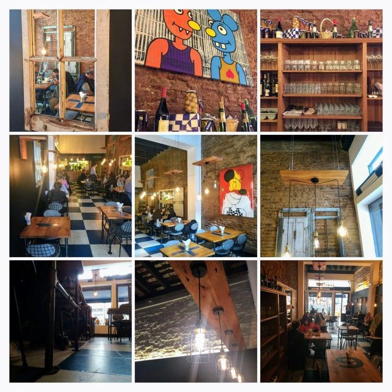 Lucca Bistro y Cafe: detalhes da decoração