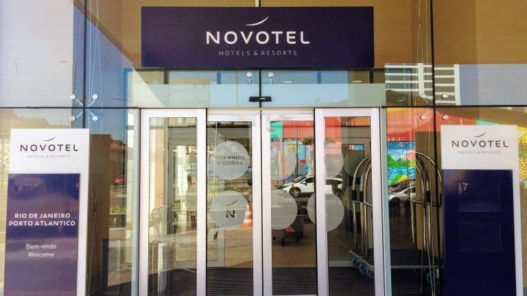 Novotel RJ Porto Atlantico: fachada